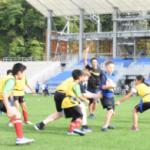 大会成功、思いつなぐ 釜石・スタジアムで日台豪児童…