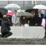 合同追悼式、溝浮き彫り 大槌、職員遺族の出席低調