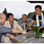 海中貯蔵の酒が人気 大船渡・小石浜地区、新たな観光…