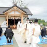 被災地の合祭殿完成 氏子と神社の絆つなぐ 福島・双…